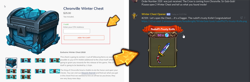 Forest Knight's Winter Sale