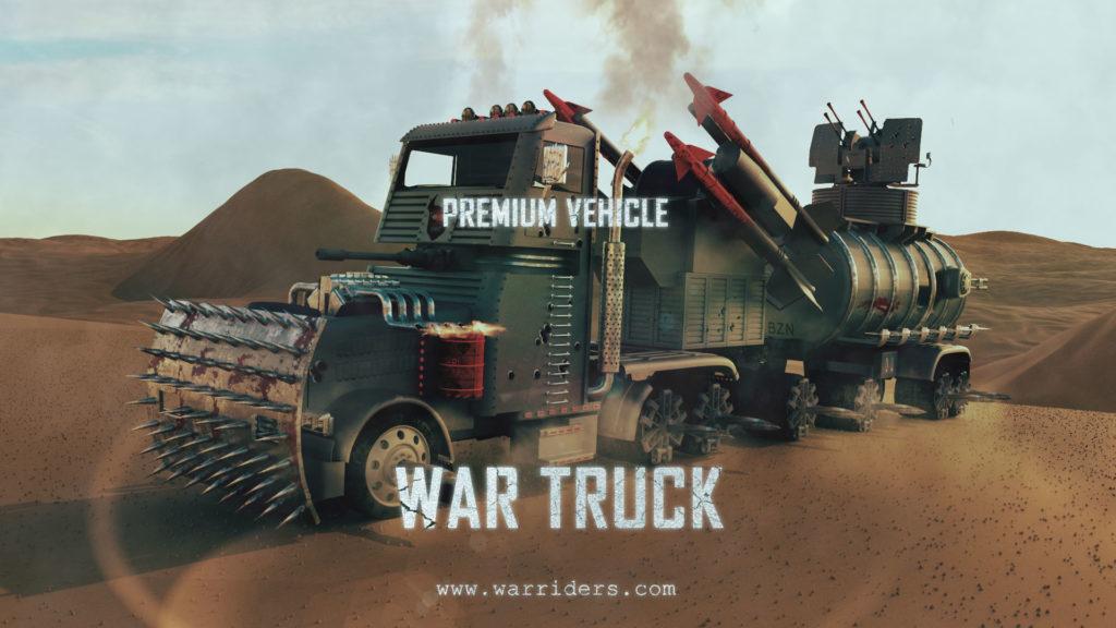 war riders war truck