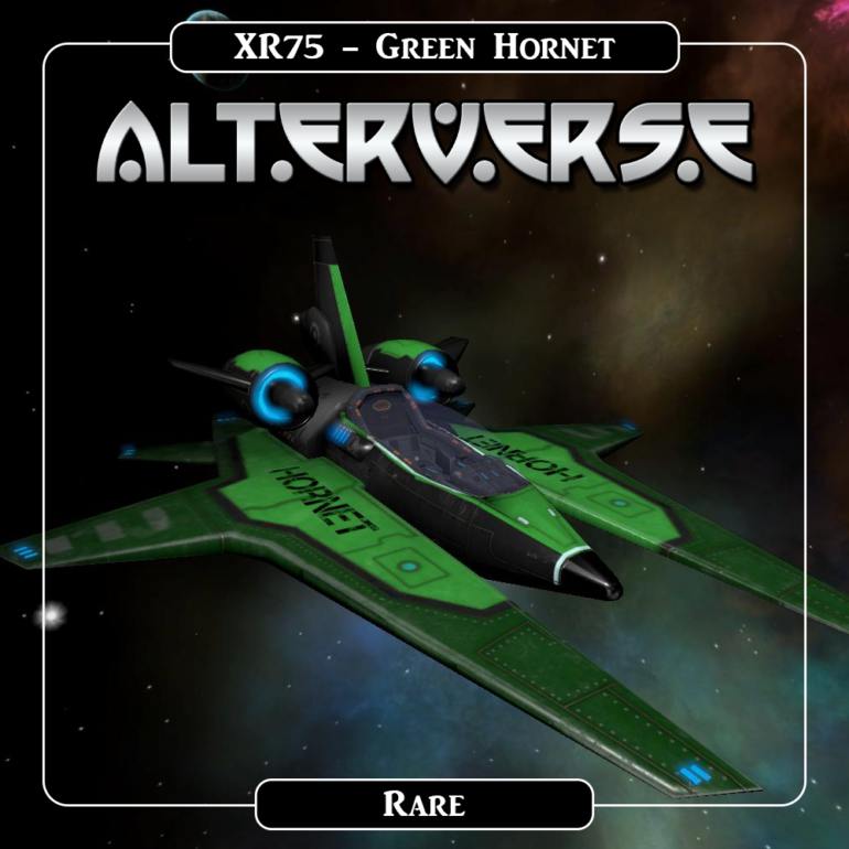 Alterverse XR75 Green Hornet