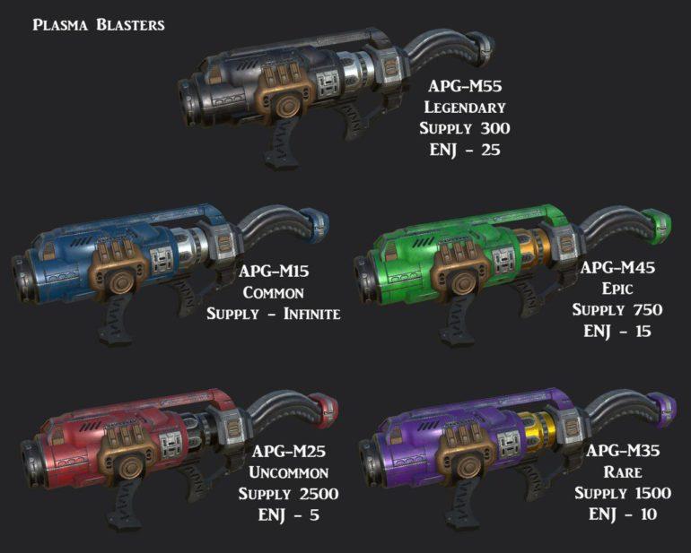Alterverse Plasma Blasters