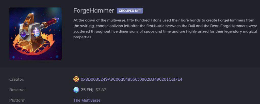 enjin multiverse