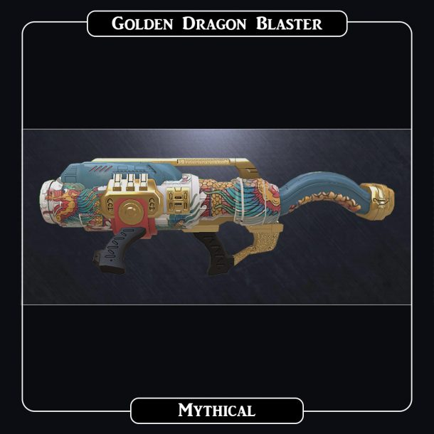 AlterVerse Golden Dragon Blaster