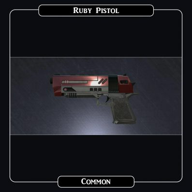 AlterVerse Ruby Pistol