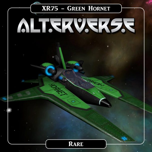 AlterVerse XR75_Green Hornet