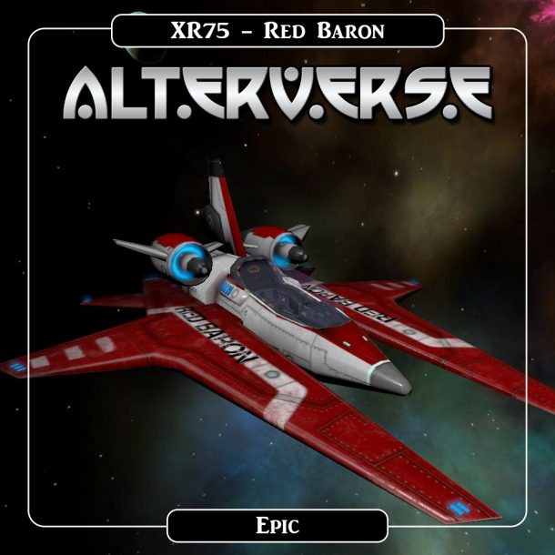 AlterVerse XR75_Red Baron