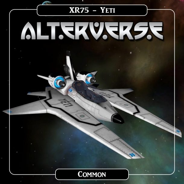 AlterVerse XR75_Yeti
