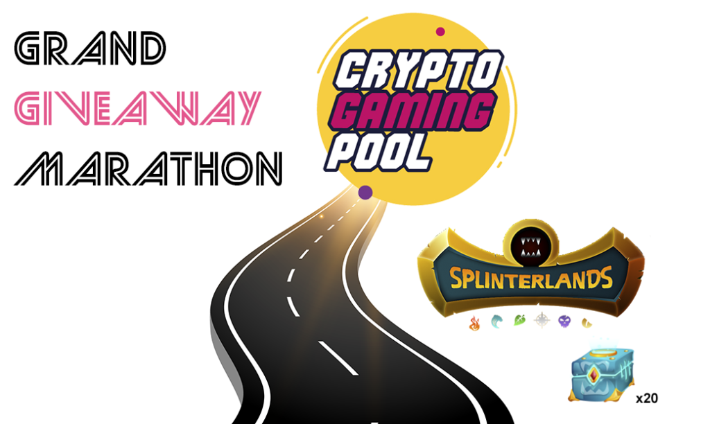 Grand giveaway marathon, CryptoGamingPool, Splinterlands