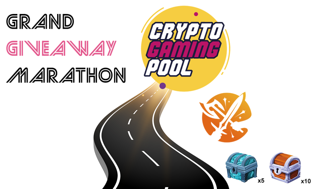 Grand giveaway marathon, CryptoGamingPool, 0xwarriors, 0xGames