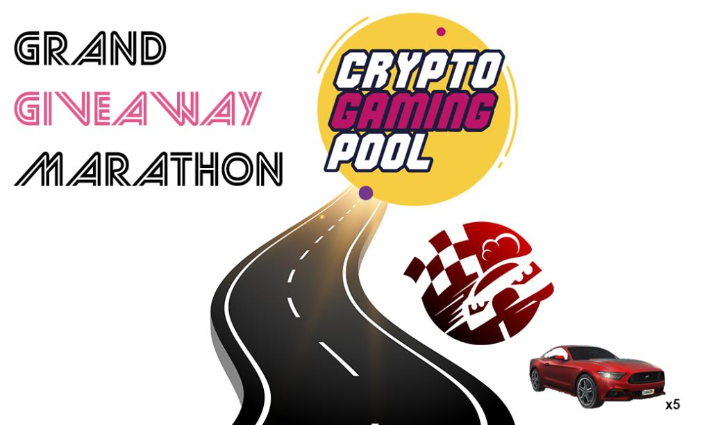 Grand giveaway marathon, CryptoGamingPool, 0xRacers
