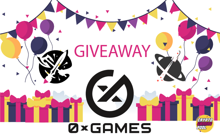 0xgames 0xuniverse 0xWarriors giveaway