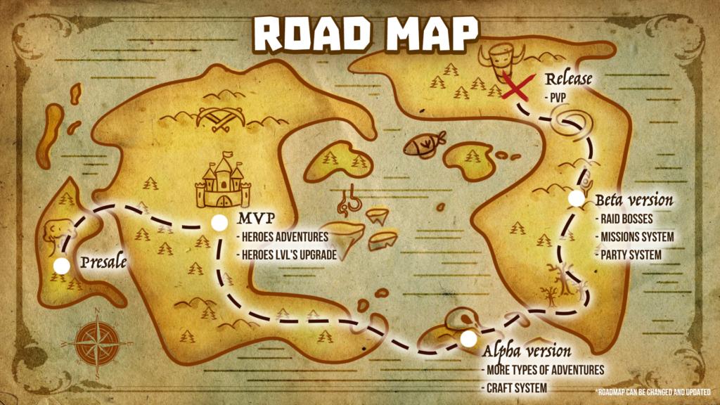 NFT PANDA World of Fantasy roadmap